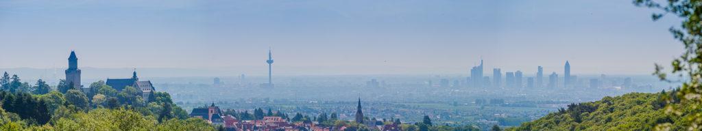 Blick von Königstein im Taunus