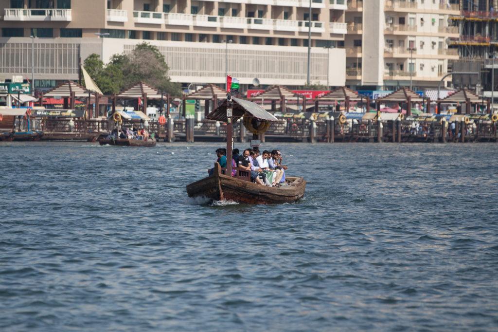 Bootstour auf den Dubai Creek - ein Muss für Touristen - Dubai