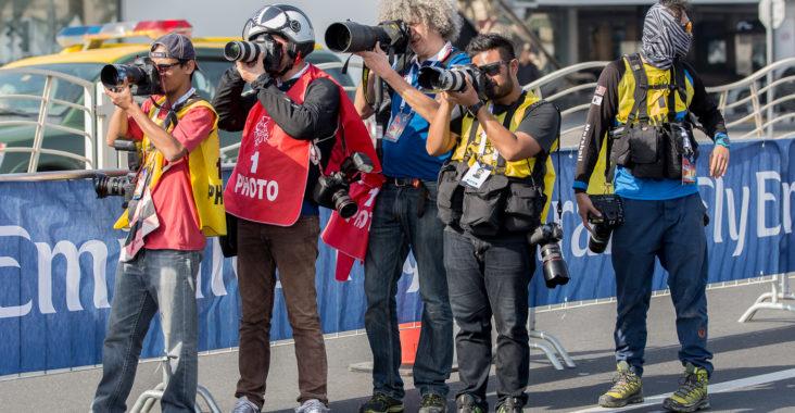 Fotografen und ihre Ausrüstung