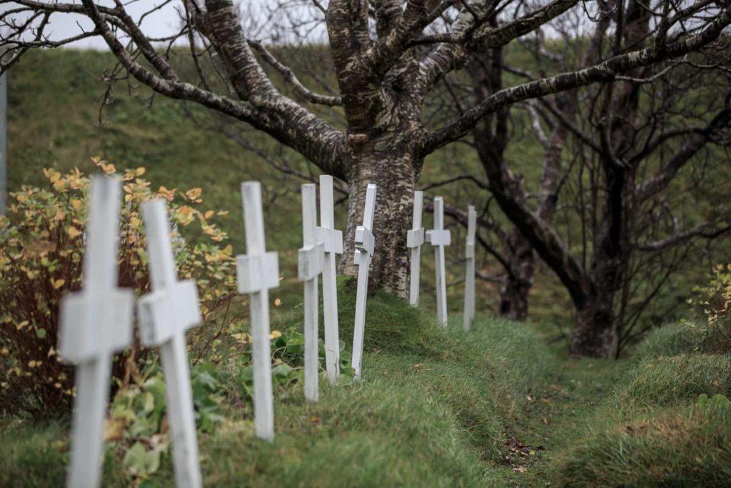 Hofskirkja - Friedhof