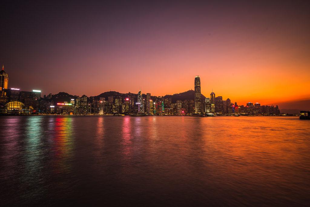 Hong Kong Island - Sonnenuntergang